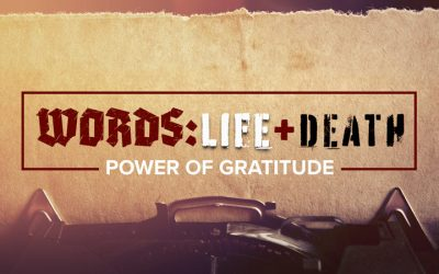 WORDS: Life & Death – Power of Gratitude