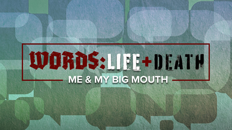 WORDS: Me & My Big Mouth