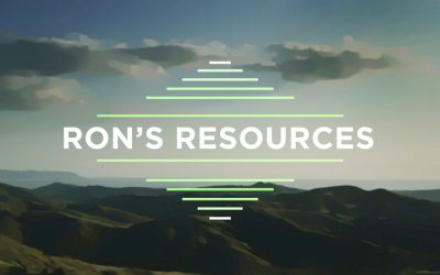 Ron's Resources for Spiritual Growth