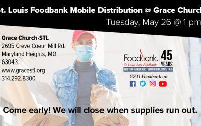 May 26th: Food Bank at Grace Church STL!