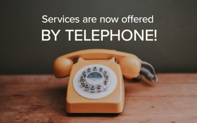 Services Offered By Phone!