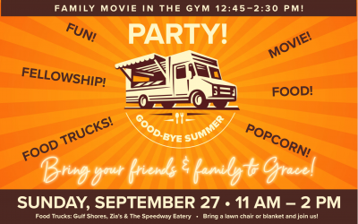 """This Sunday: """"Goodbye Summer"""" Party!"""