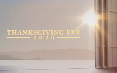 Thanksgiving Eve 2020